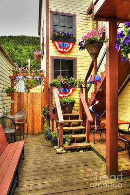 Fine Art In Skagway 3 Art Print by Mel Steinhauer