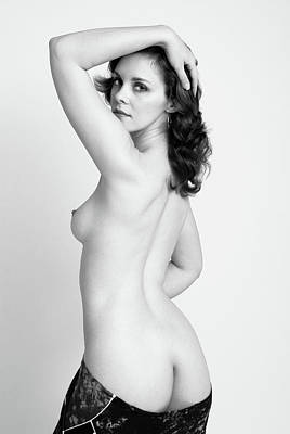 Photograph - Fine Art Pin-up by Harry Spitz