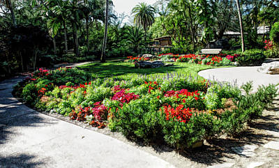 Photograph - Fine Wine Cafe Garden Park by Aimee L Maher Photography and Art Visit ALMGallerydotcom