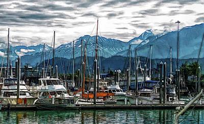 Photograph - Fine Wine Cafe Seward Alaska 2 by Aimee L Maher Photography and Art Visit ALMGallerydotcom