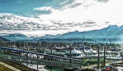 Photograph - Fine Wine Cafe Seward Alaska by Aimee L Maher Photography and Art Visit ALMGallerydotcom