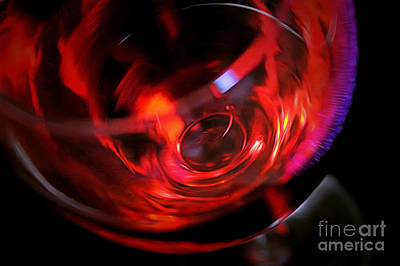 Glass Of Wine Photograph - Fine Wine by Krissy Katsimbras