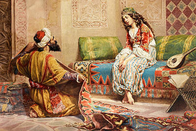 Photograph - Finest Carpets Merchant by Munir Alawi