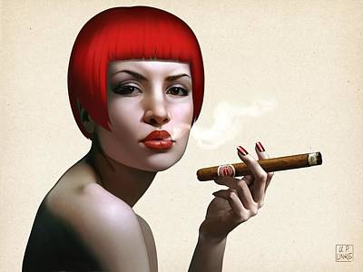 Painting - Finest Cuban by Udo Linke