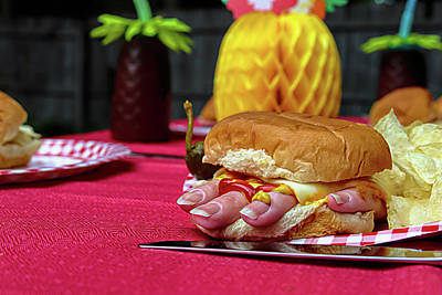 Photograph - Finger Food by Mike Smale