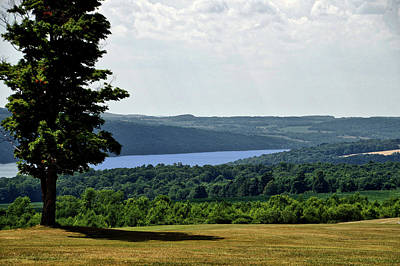 Finger Lakes New York Area In July Art Print