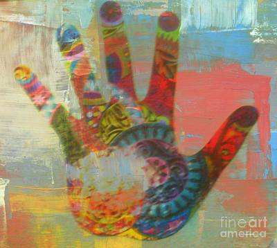 Photograph - Finger Paint by Kelly Awad