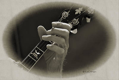Digital Art - Finger Pickin' Good 1 by Kae Cheatham