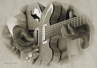 Finger Pickin' Good 2 Art Print by Kae Cheatham