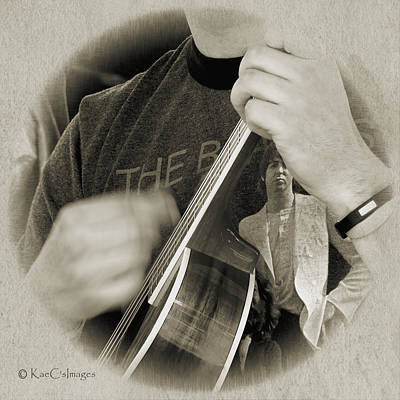 Digital Art - Finger Pickin' Good 4 by Kae Cheatham