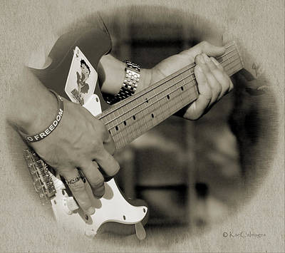 Finger Pickin' Good 7 Art Print by Kae Cheatham