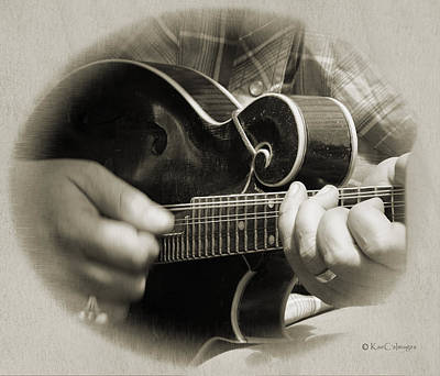 Digital Art - Finger Pickin' Good 8 by Kae Cheatham
