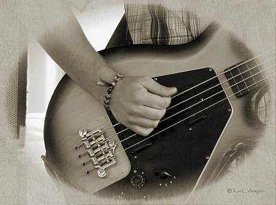 Digital Art - Finger Pickin' Good 9 by Kae Cheatham