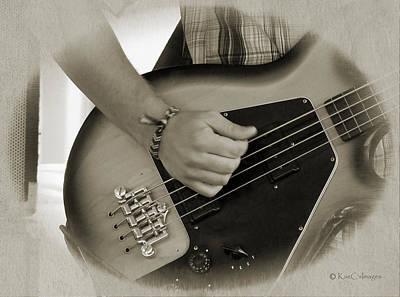 Guitar Player Digital Art - Finger Pickin' Good 9 by Kae Cheatham