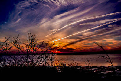Photograph - Fingerpainted Sky by Pete Federico
