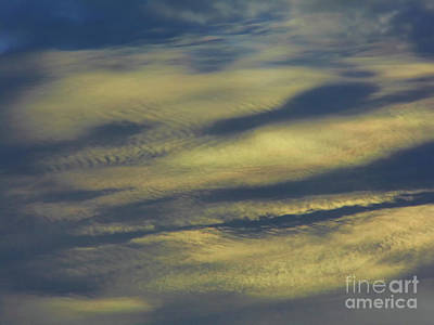 Photograph - Fingerprints In The Clouds by D Hackett