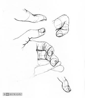 Fingers Art Print
