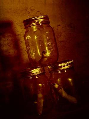 Photograph - Fingers In A Jar by Kyle J West