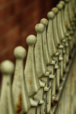 Photograph - Finials All In A Row by Cate Franklyn