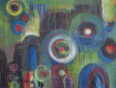 Painting - Finish Line Part 1 by Laurie Maves ART