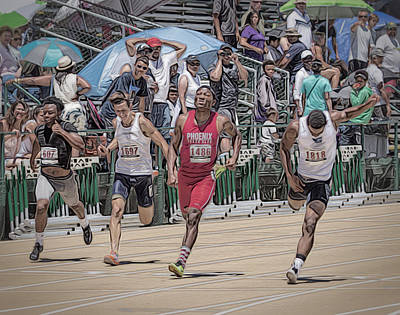 Photograph - Finish Line by Wes Jimerson