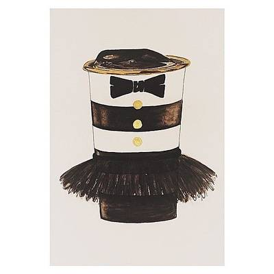 My #aliceandoliva #starbucks Painting Art Print by Kathryn  Prantl