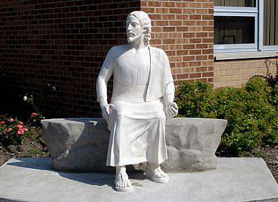 Sculpture - Finished Statue by Patrick RANKIN