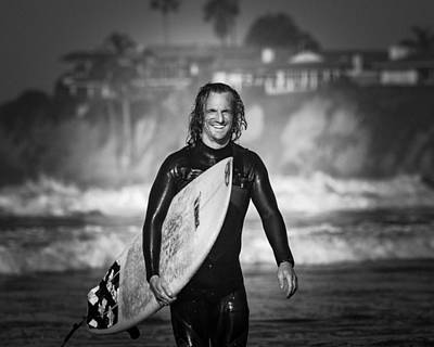Brian Jones Photograph - Finished Surfing by Brian Jones