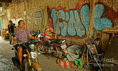 Photograph - Fink Color Graffiti by Arik S Mintorogo