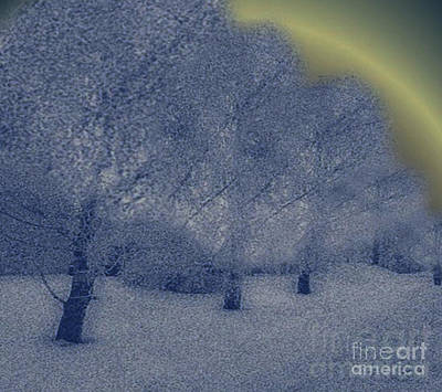 Painting - Finland White Winter by Belinda Threeths