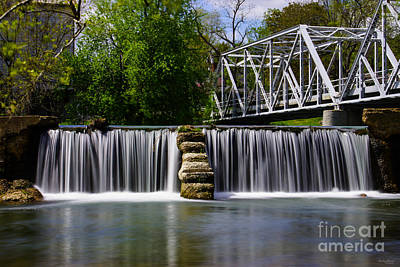 Photograph - Finley River Dam by Jennifer White