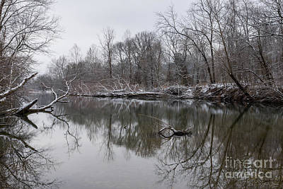 Photograph - Finley Winter Reflections by Jennifer White