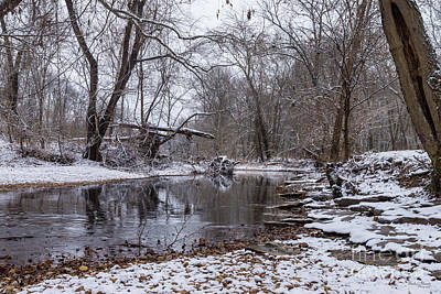 Photograph - Finley Winter Snow by Jennifer White