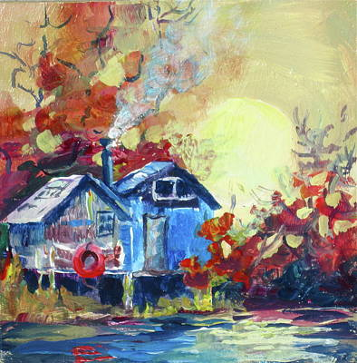 Painting - Finn Slough by Bonny Roberts