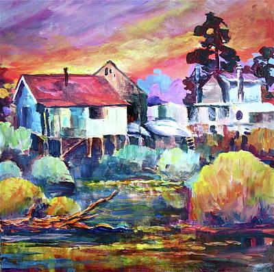 Painting - Finn Slough II by Bonny Roberts