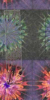 Finnier Truth Flowers  Id 16165-202841-14261 Art Print by S Lurk