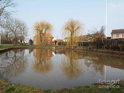 Finningley Pond Art Print