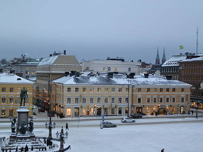Photograph - Finnish Square by Margaret Brooks