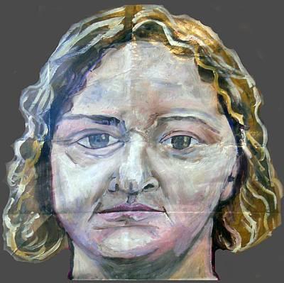 Painting - Mk Ultra Series Fiona Barnett by Joanna Whitney