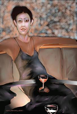 Digital Art - Fiona Bonny by Kerry Beverly