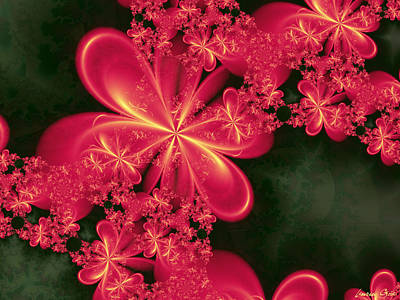 Blooming Digital Art - Fior by Lauren Goia