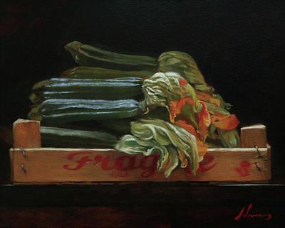 Painting - Fiori di Zucca by Michael Lynn Adams