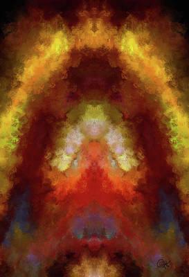 Digital Art - Fire Agate 2 by Debora Nash