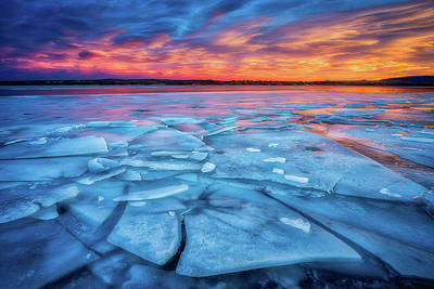 Photograph - Fire And Ice 2 by Darren White