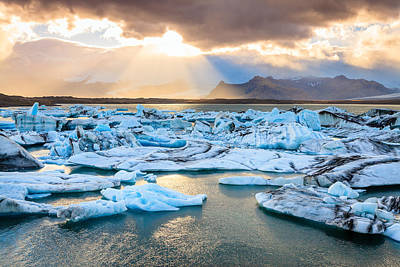 Photograph - Fire And Ice by Alexey Stiop