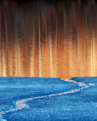 Fire And Ice Art Print by Bill Wakeley