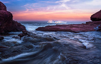 Shawn Photograph - Fire And Ice Flatrock by Shawn Hudson