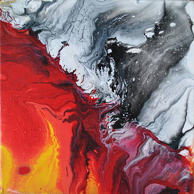 Painting - Fire And Ice by Sandy Dusek