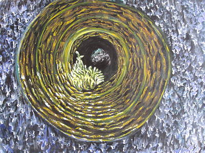 Fire And Ice Art Print by Sujata Tibrewala