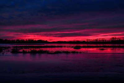 Photograph - Fire And Ice Sunrise by Dale Kauzlaric